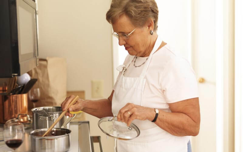 All of our senior apartments come with their own designer kitchens- in case you still get a kick out of cooking.