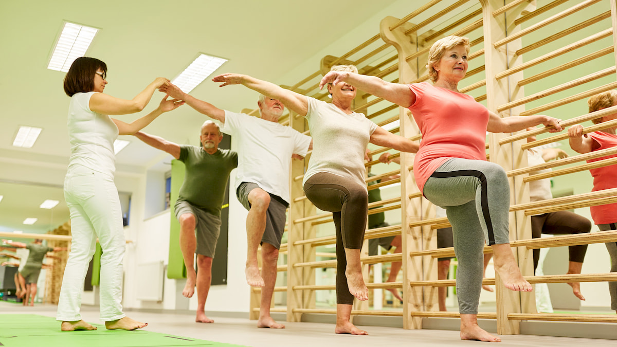 Balance class in Chattanooga, Tennessee
