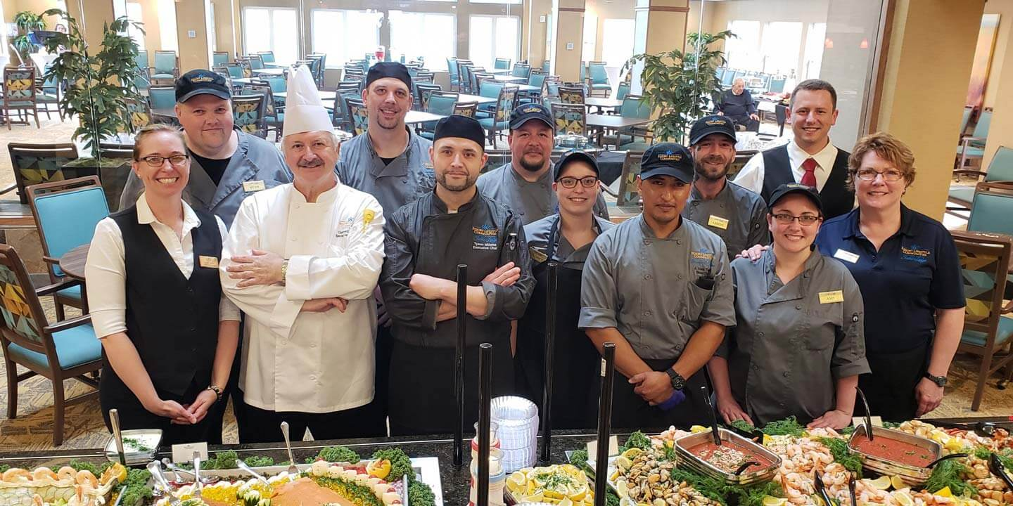 Culinary team at a community of Resort Lifestyle Communities.