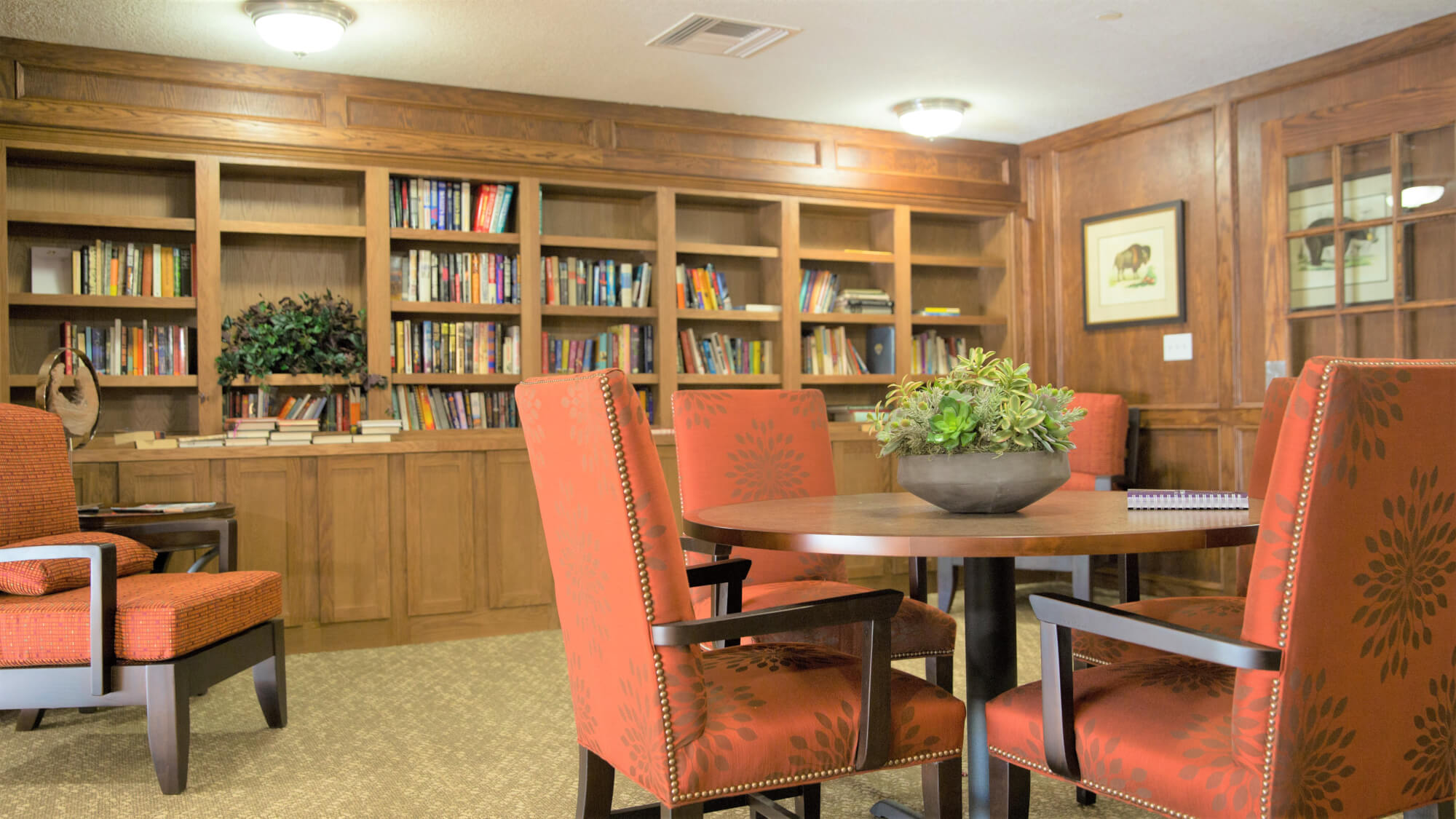 Library at Coronado Villa