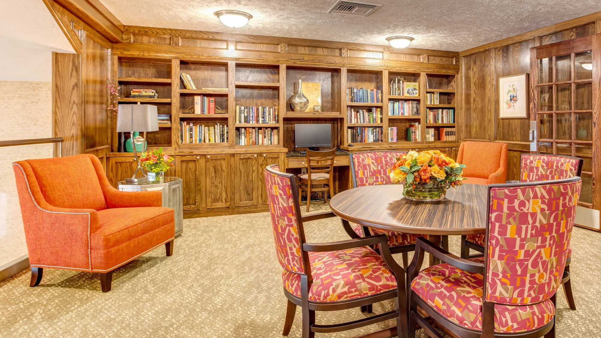 Library at Huntley Springs