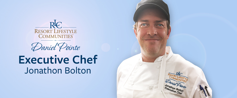 Jonathon Chef representing Daniel Pointe Culinary team