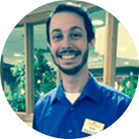 Kyle Rasmussen is a server at Provident Crossings in Round Rock, Texas.