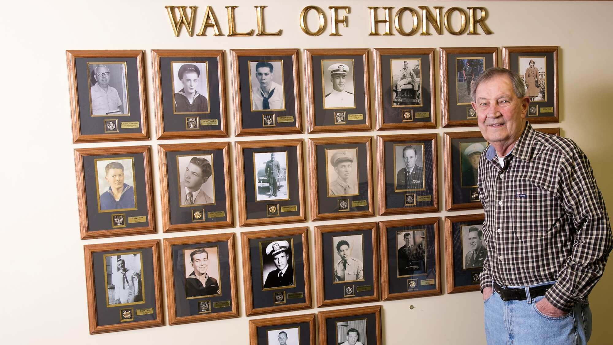 Provident Crossing Wall of Honor
