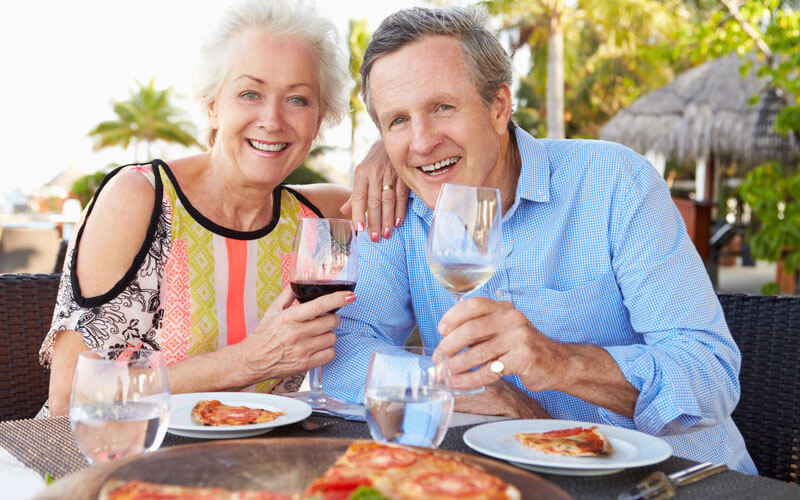 Our retirement communities come with a sandwich and pizza station – because you never know when you might be a bit peckish.