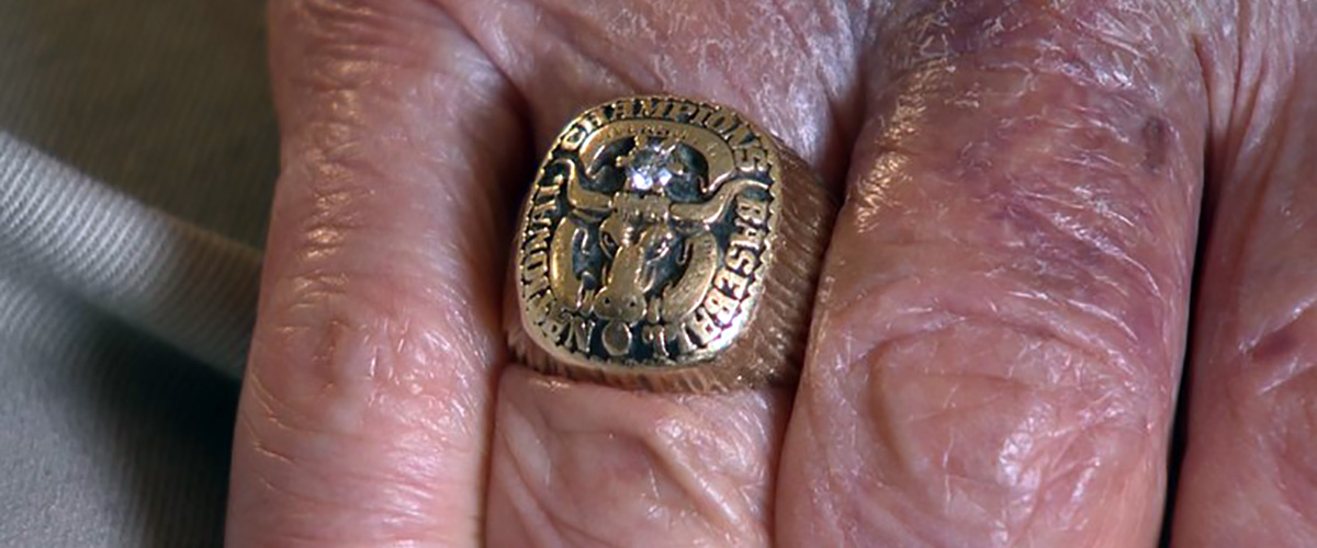 Charlie Gorin's National Championship Ring (Courtesy of Shawn Clynch)
