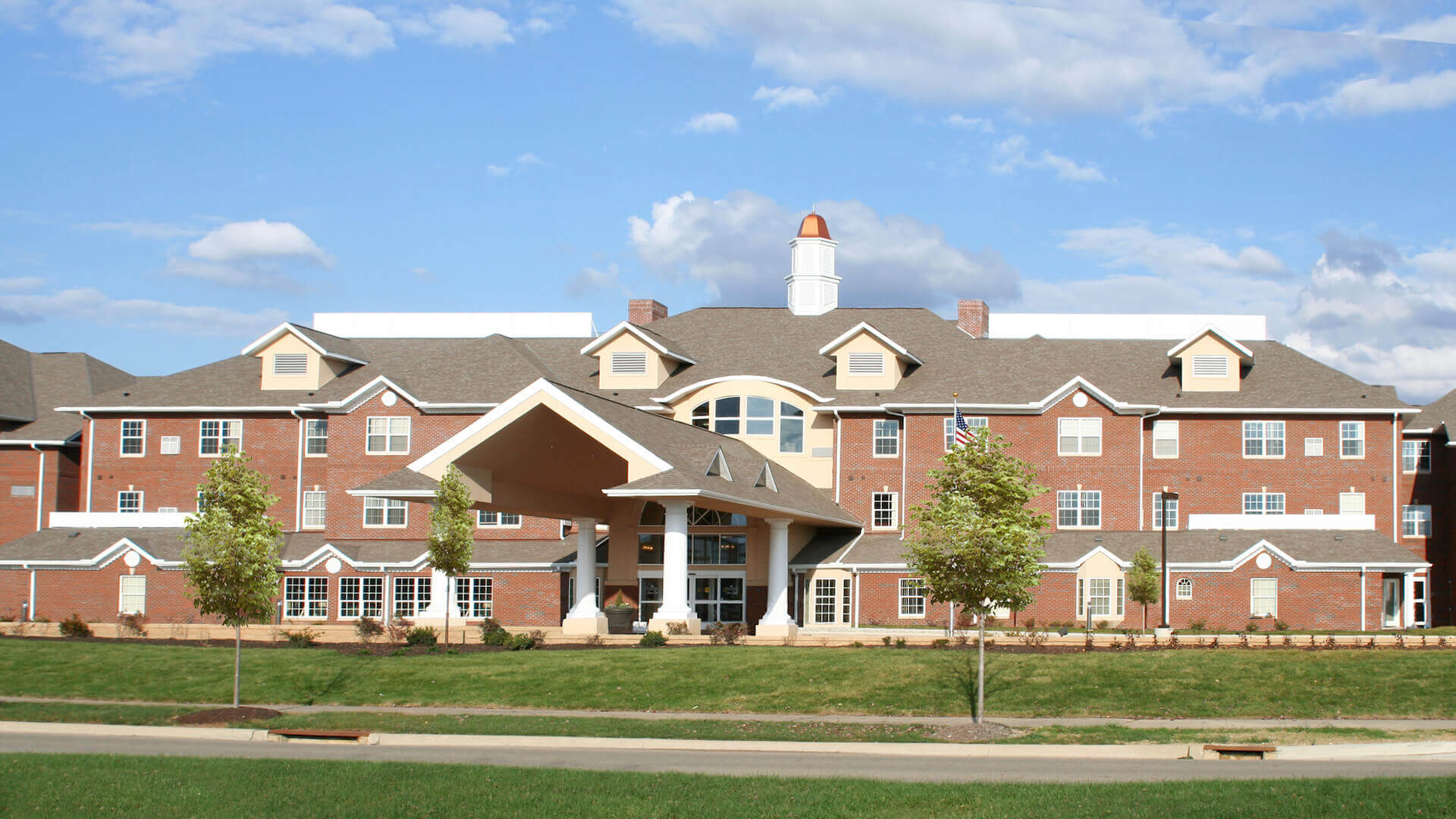 Exterior photo of Stone Oak Retirement Community