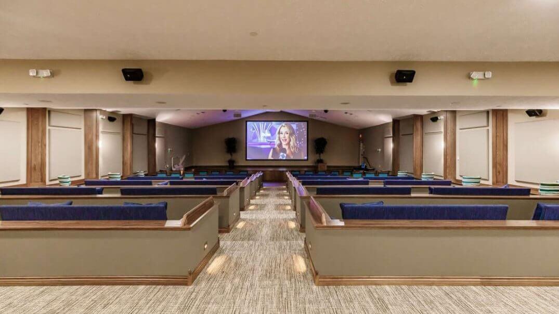 150-seat Movie Theatre at Seaside Springs Retirement Community