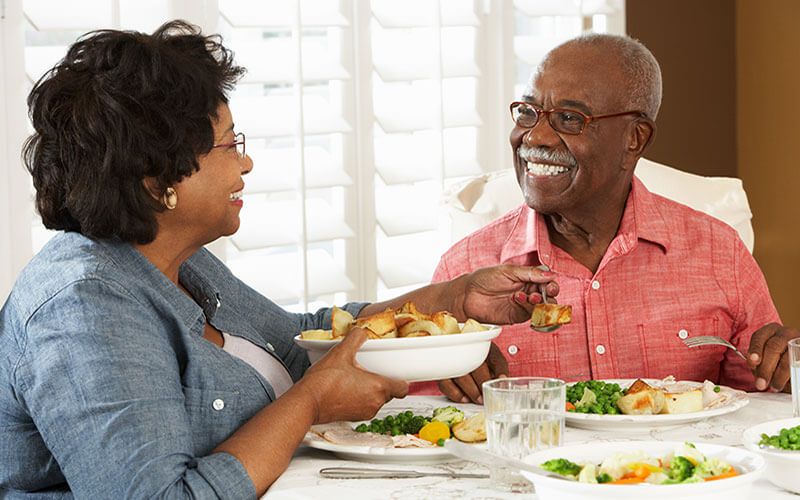 We're senior housing that's home – every day of the week.