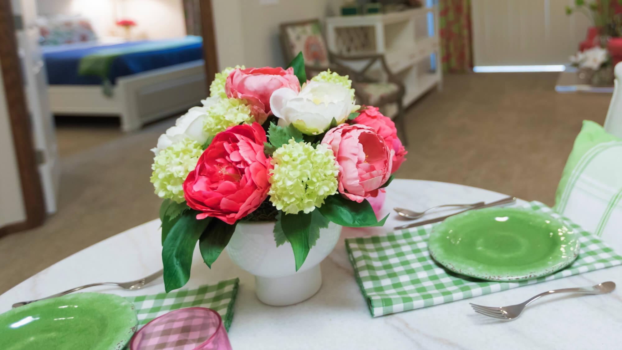 Stunning floral arrangement at Vickery Rose.