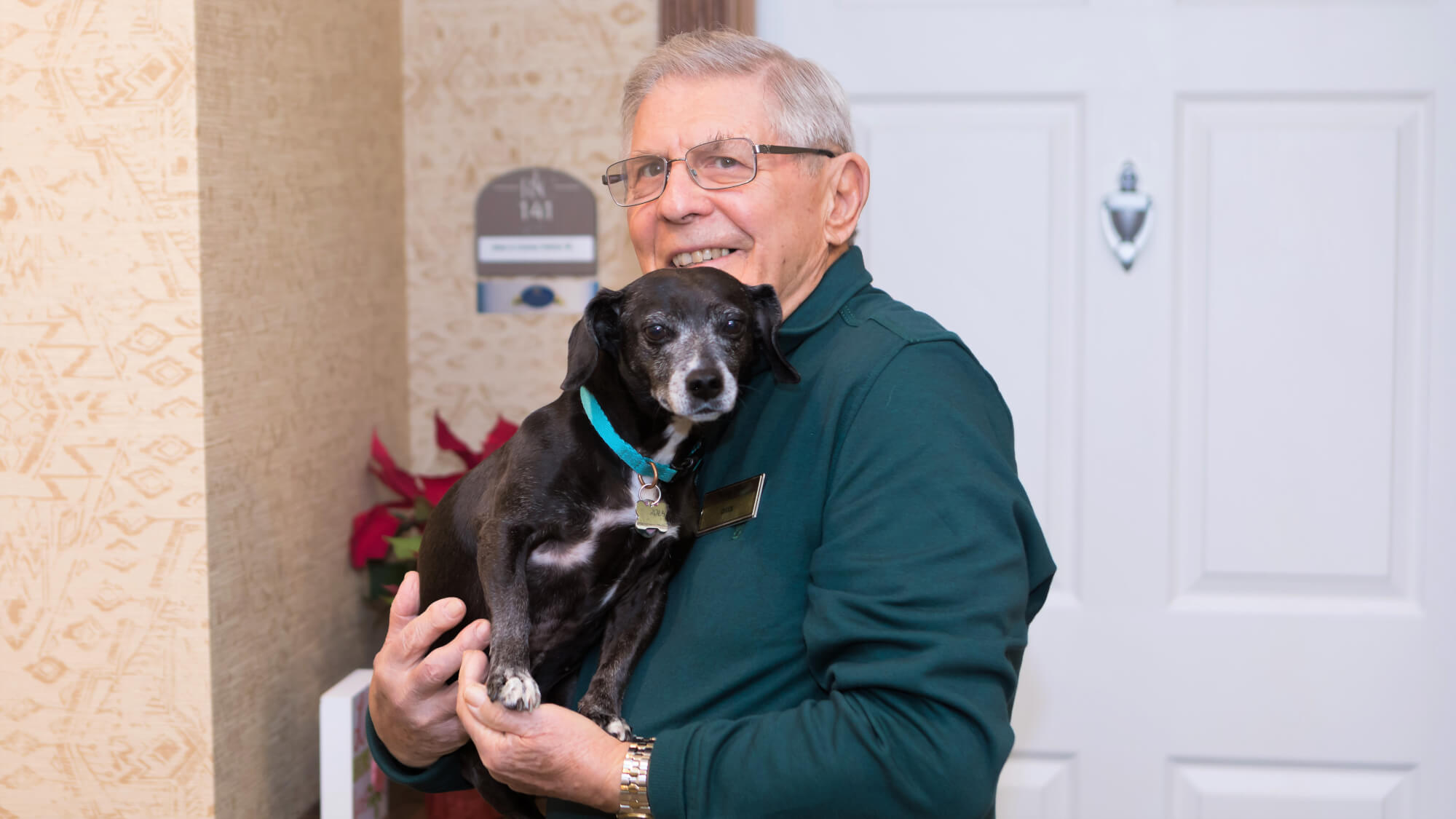 Pets are like family here at Vickery Rose.