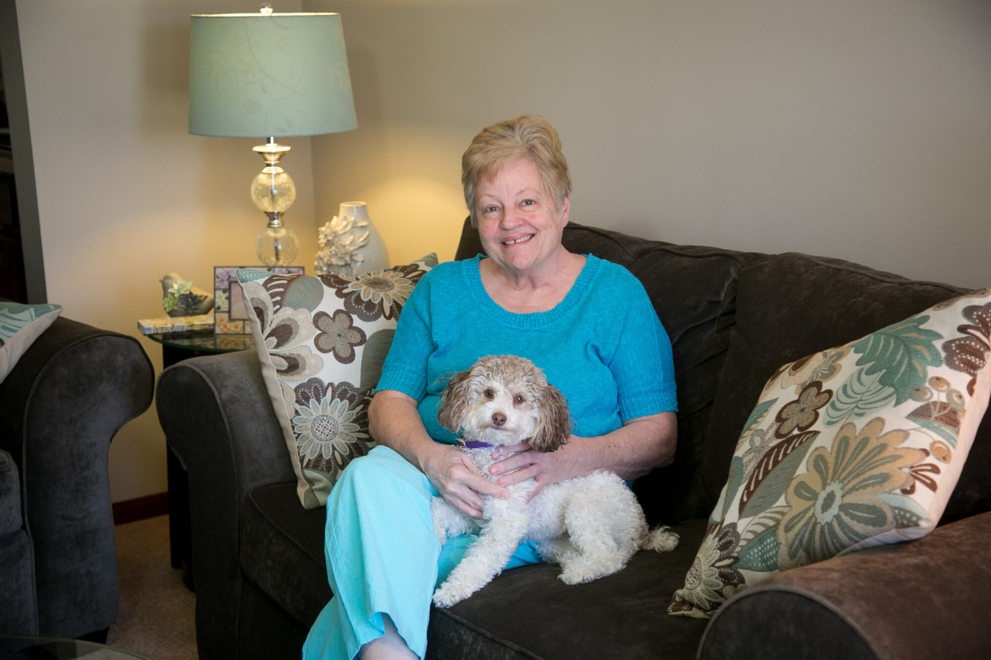 Pets are warmly welcomed at our community.